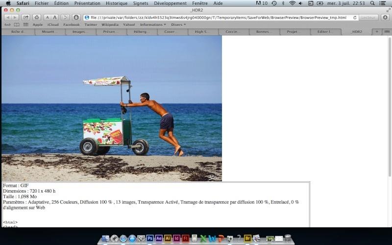 Tuto-Gif animé - Mouvement d'eau avec photoshop CS6 Captur21