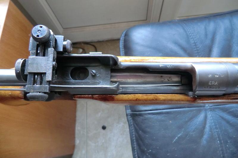Carabine de match anglaise Reming11