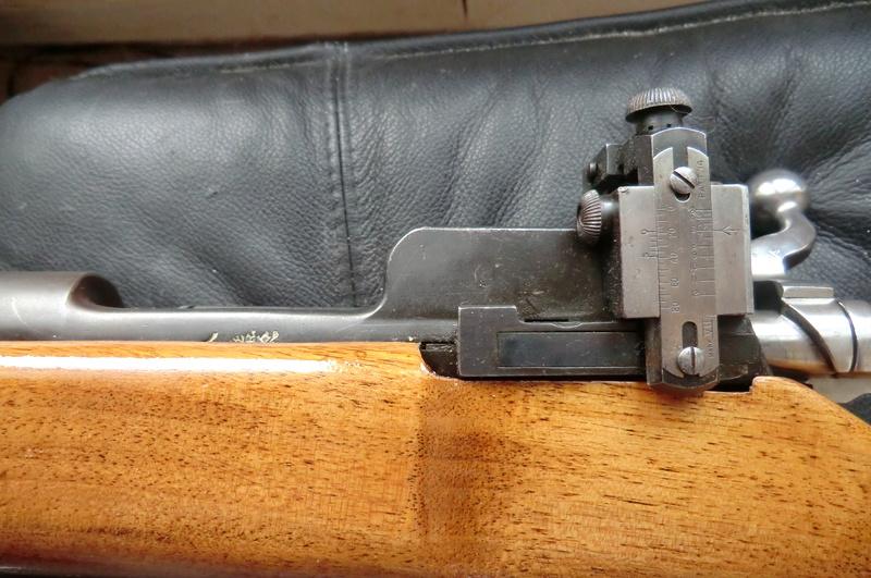 Carabine de match anglaise Reming15
