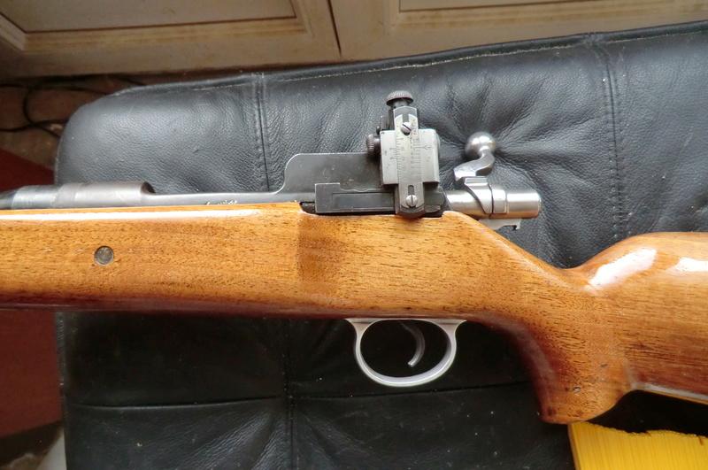 Carabine de match anglaise Reming16