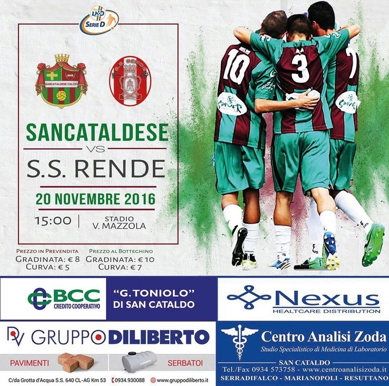 Campionato 12°giornata: SANCATALDESE - s.s. rende 1-0 15078610
