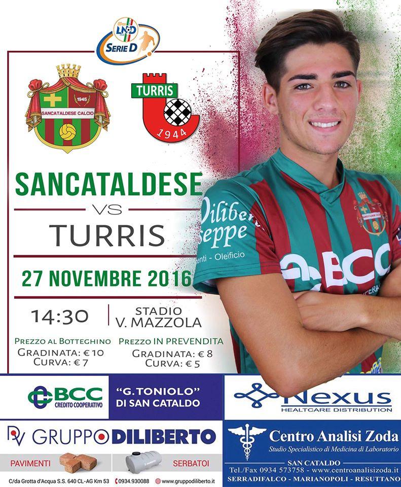 Campionato 13°giornata: SANCATALDESE - turris 0-2 15110510
