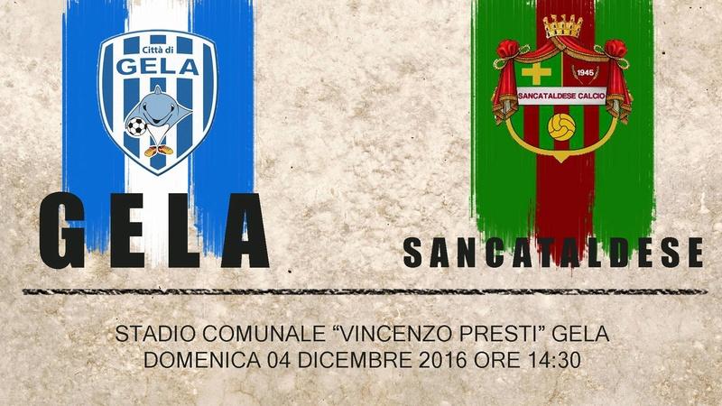 Campionato 14°giornata: citta' di gela - SANCATALDESE 0-0 15288510