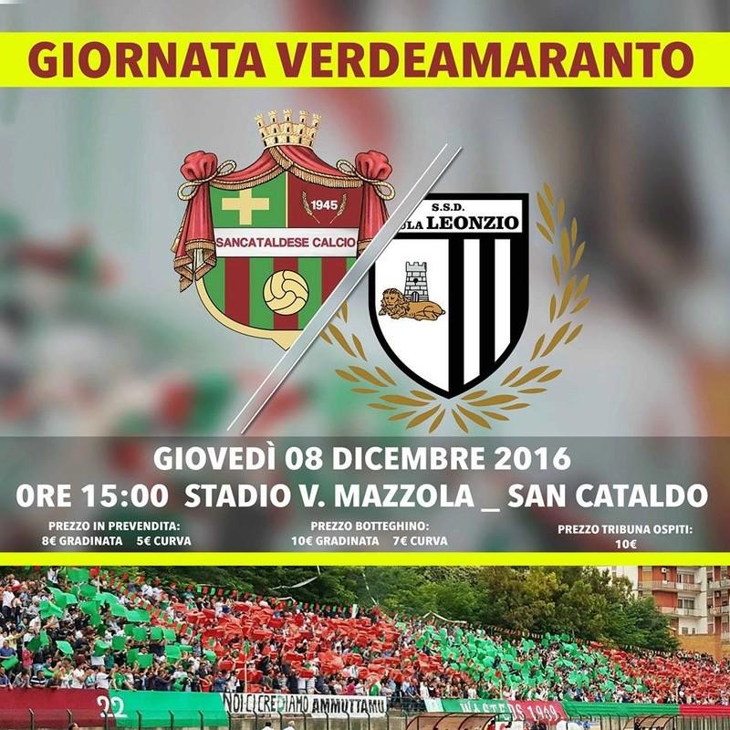 Campionato 15°giornata: SANCATALDESE - sicula leonzio 1-0 15356610