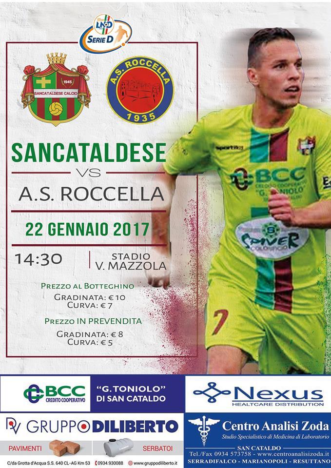 Campionato 20°giornata: SANCATALDESE - roccella 2-1 16143310