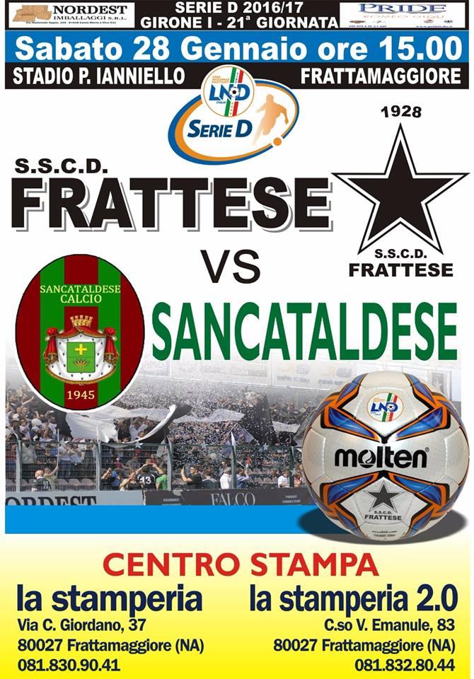 Campionato 21°giornata: frattese - SANCATALDESE 4-0 16266010