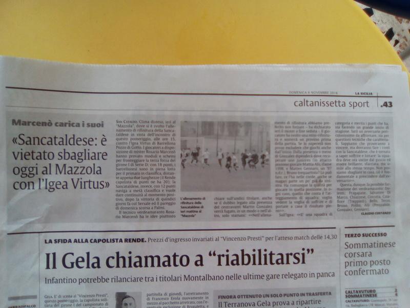 Campionato 10°giornata: SANCATALDESE - igea virtus 1-2 Img_2011