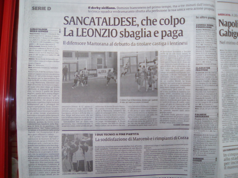 Campionato 15°giornata: SANCATALDESE - sicula leonzio 1-0 Img_2018
