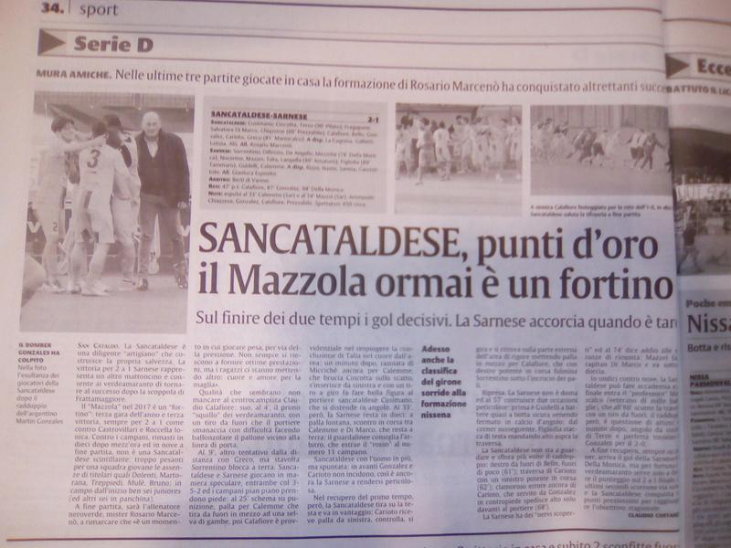 Campionato 22°giornata: SANCATALDESE - sarnese 2-1 Img_2031