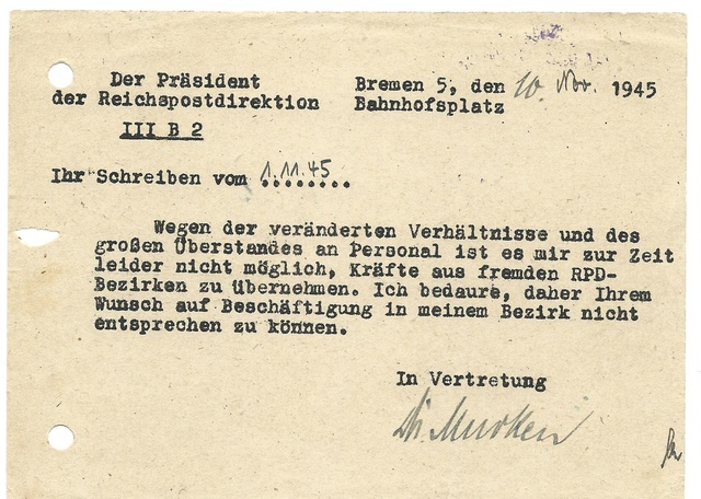 Deutsches Reich 15 octobre 1945 Rpd_ve10