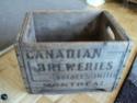 caisse de bois canadian breweries quebec montreal Dsc01719