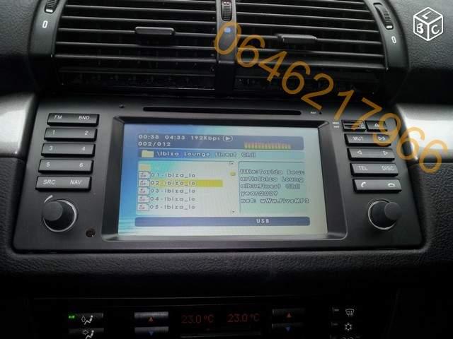 radio double din E39 C74e3510