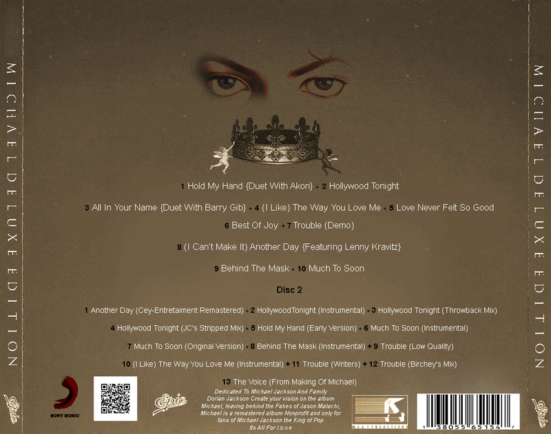 (CD) - Michael (Deluxe Edition Without Fakes) Trackl10