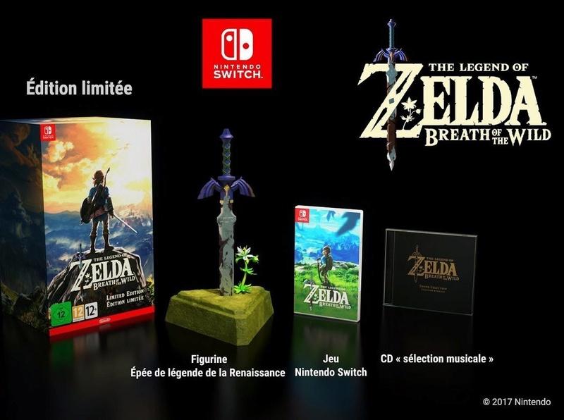 Zelda Breath of The Wild Collector C2c3dt10