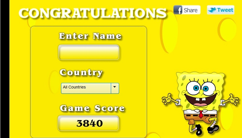 Hidden SpongeBob Aa78