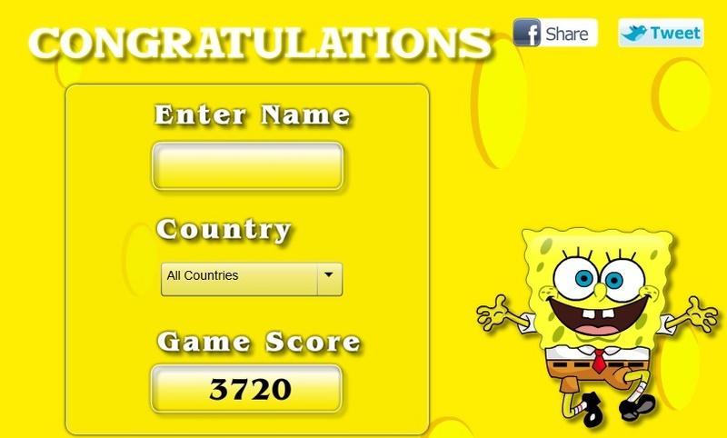 Hidden SpongeBob Aa80