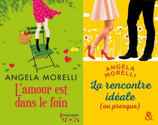 Les Parisiennes - Tome 2 : L'amour est dans le foin / La rencontre idéale (ou presque) d'Angéla Morelli Angela10