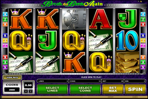 Microgaming casino game : Break da Bank Again