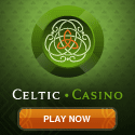 Celtic Casino offers live casino roulette, blackjack, and baccarat.