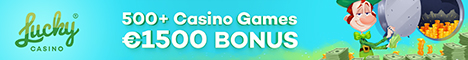 Lucky Casino 20 Free Spins No Deposit Bonus $/€500 Bonus Luckyc10