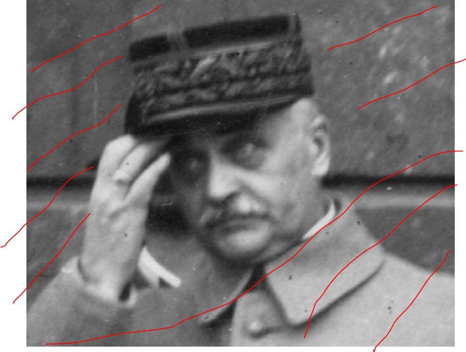 Identification d'un général 110