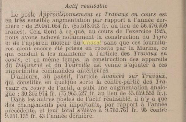 Le contre-torpilleur Chacal 19250113