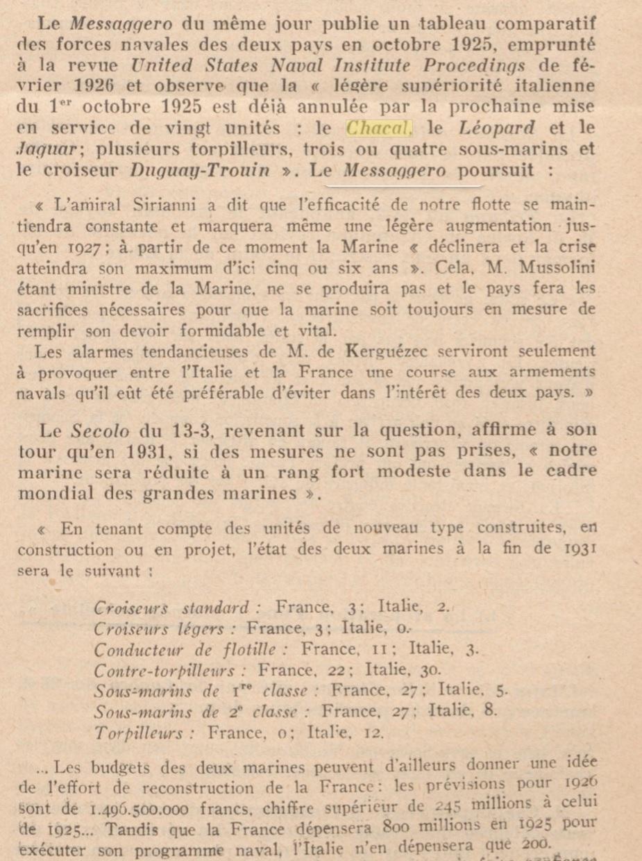 Le contre-torpilleur Chacal 19260210