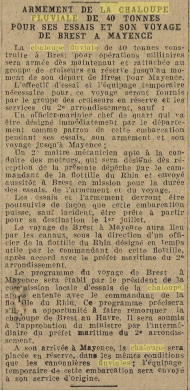 Chaloupe Fuviale n° 1 19260410
