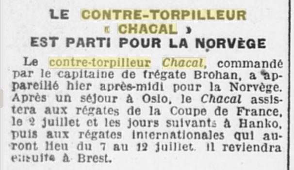 Le contre-torpilleur Chacal 19260611