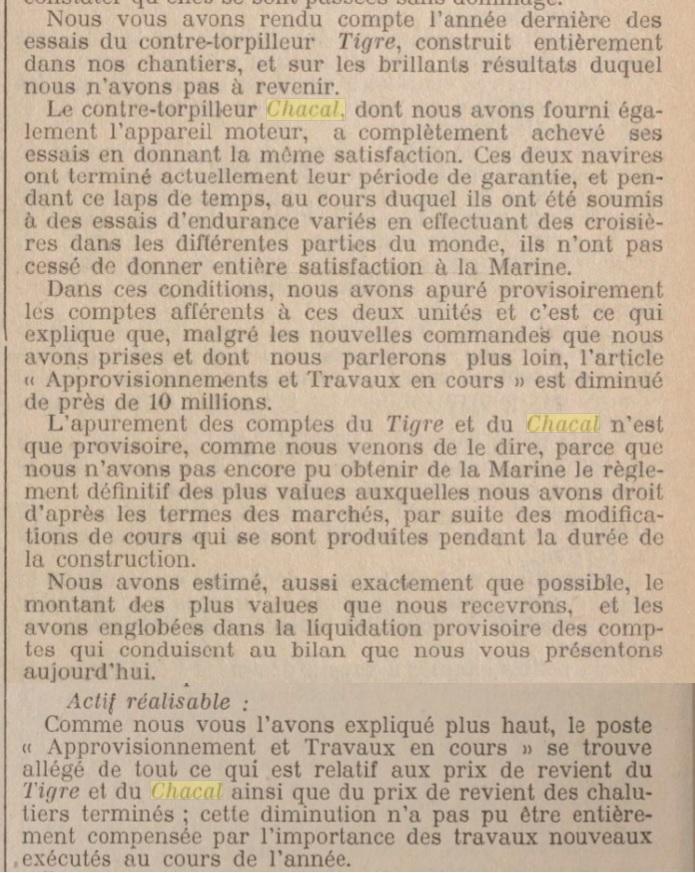 Le contre-torpilleur Chacal 19270110