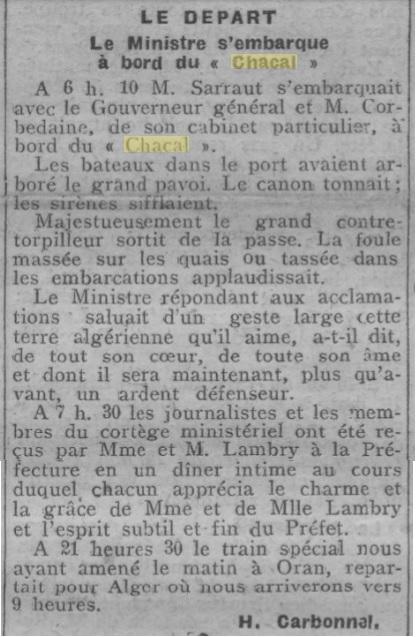 Le contre-torpilleur Chacal 19270412