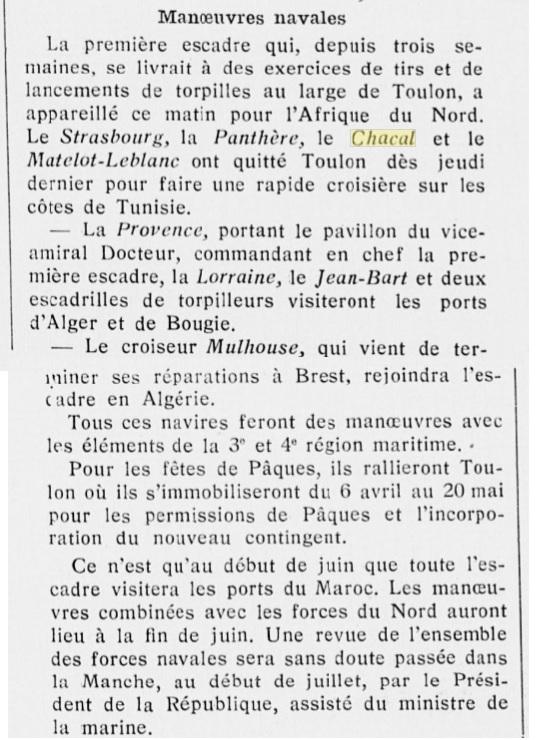 Le contre-torpilleur Chacal 19280310