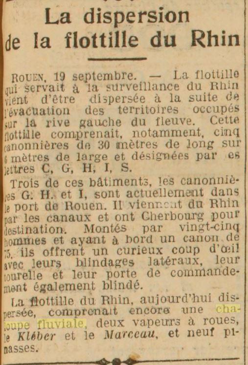 Chaloupe Fuviale n° 1 19300910