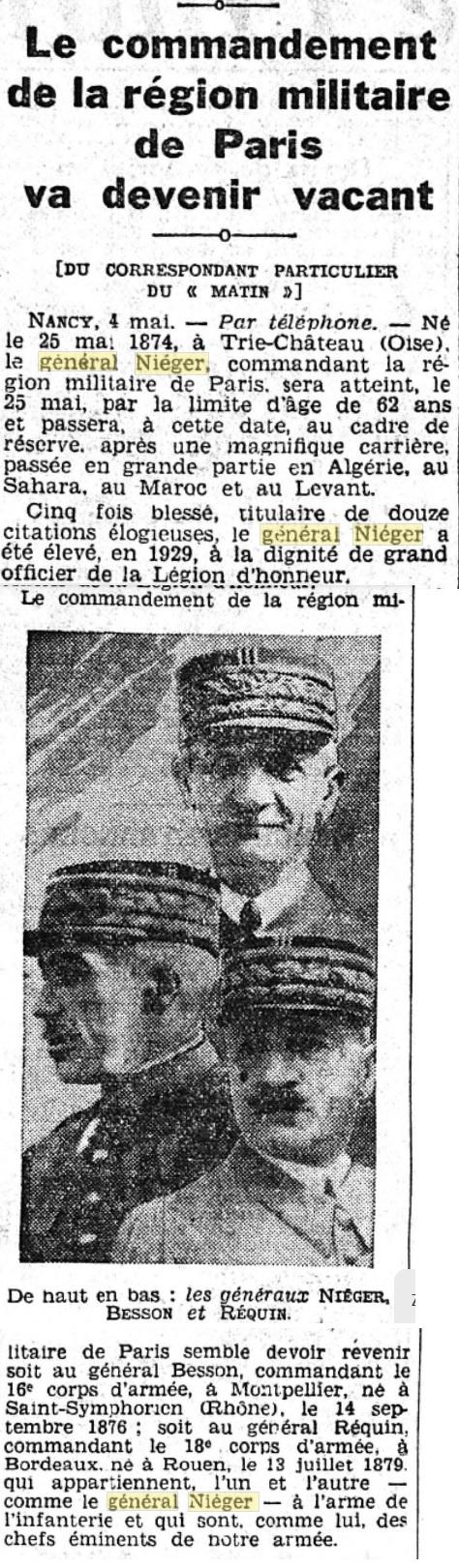 Général Niéger 193610