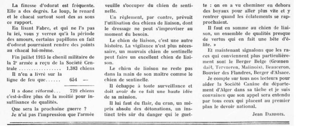 Les chiens dans l'armée française - Page 2 19370912