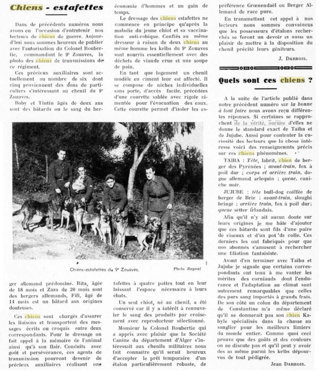 Les chiens dans l'armée française - Page 2 19380212