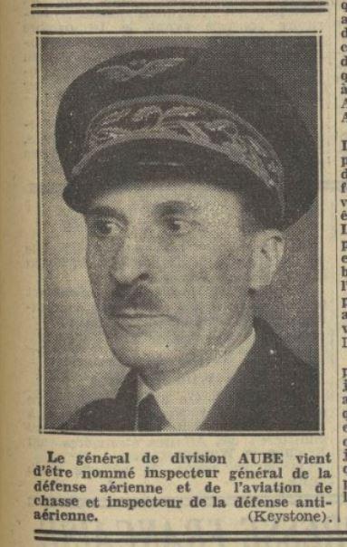 Les officiers généraux de l'armée de l'air 1939 1940 19380912