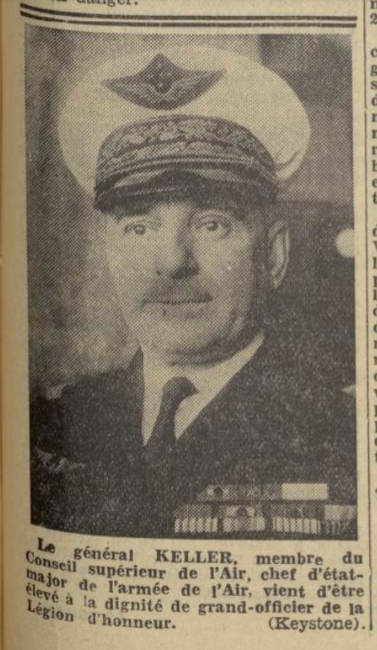 Les officiers généraux de l'armée de l'air 1939 1940 19381212