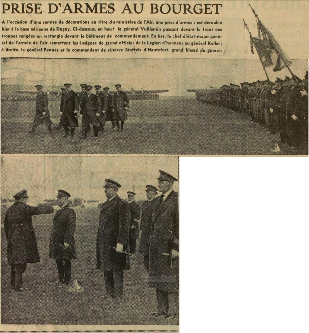 Les officiers généraux de l'armée de l'air 1939 1940 19390122