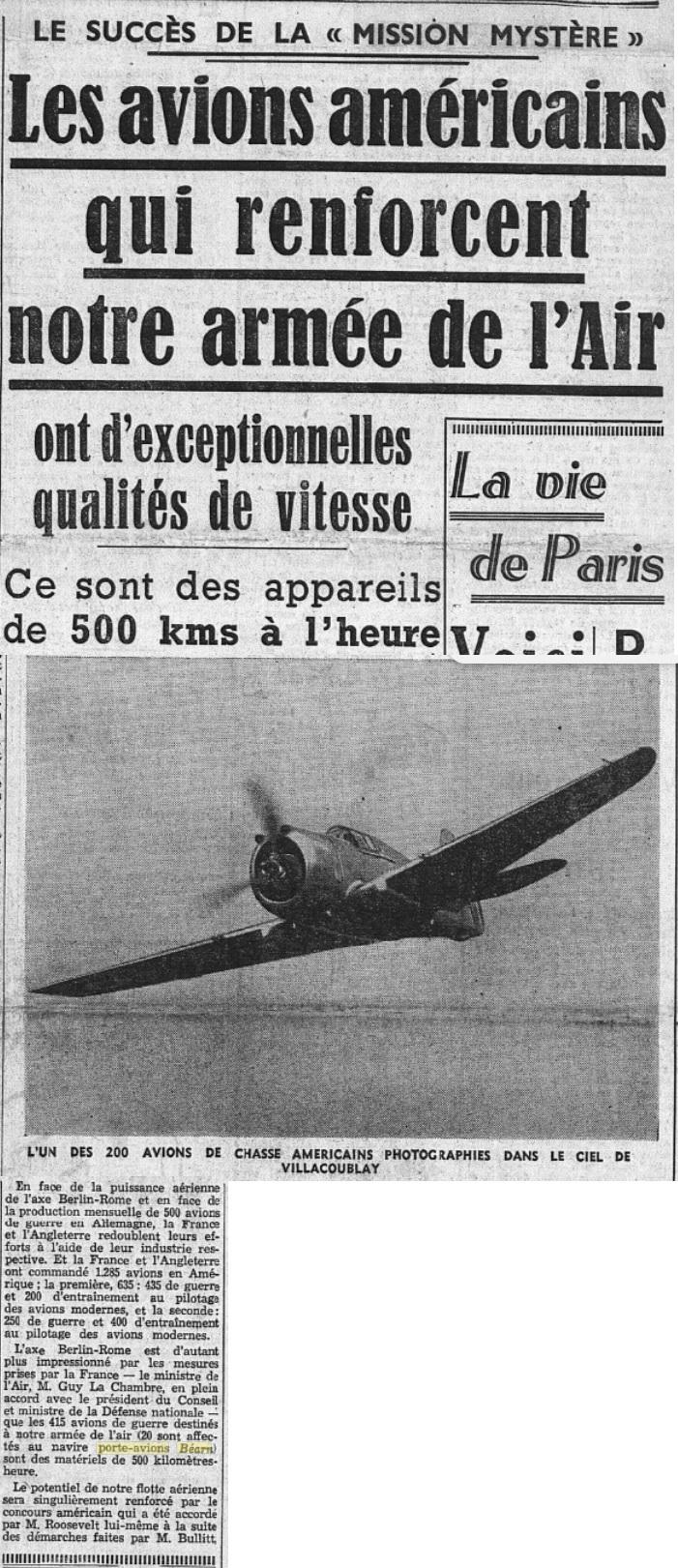 Commandes françaises aux Etats-Unis - Page 4 19390220