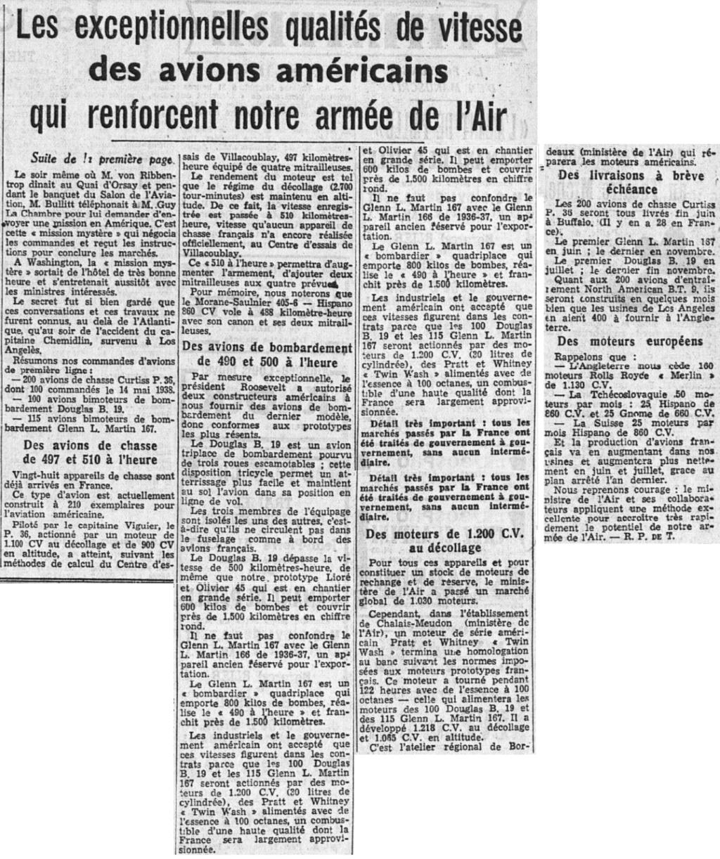 Commandes françaises aux Etats-Unis - Page 4 19390221