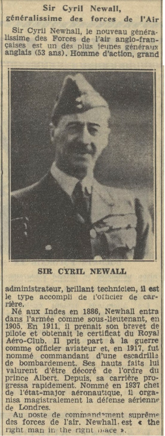 Généraux de la BEF - Page 2 19390922