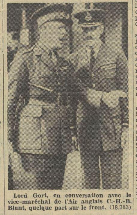 Généraux de la BEF - Page 2 19391111