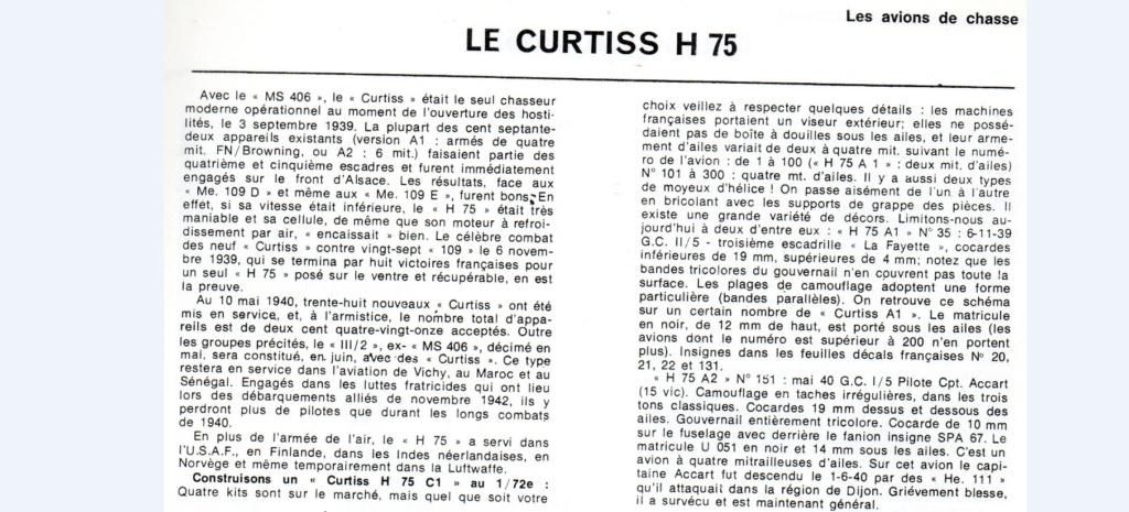 Les mordus du modélisme (1973) Fiche sur le Curtis H 75 2019-386