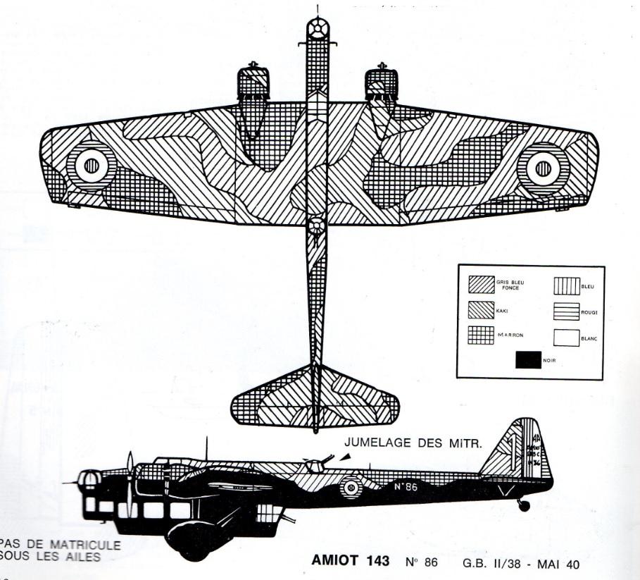 Les mordus du modélisme (1973) Fiche sur le AMIOT 143 2019-426