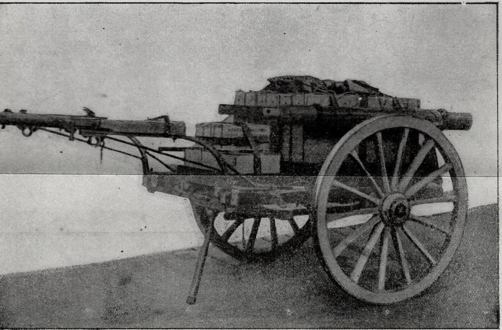 Voiturette porte mortier Stokes de 81 mm 2019-635