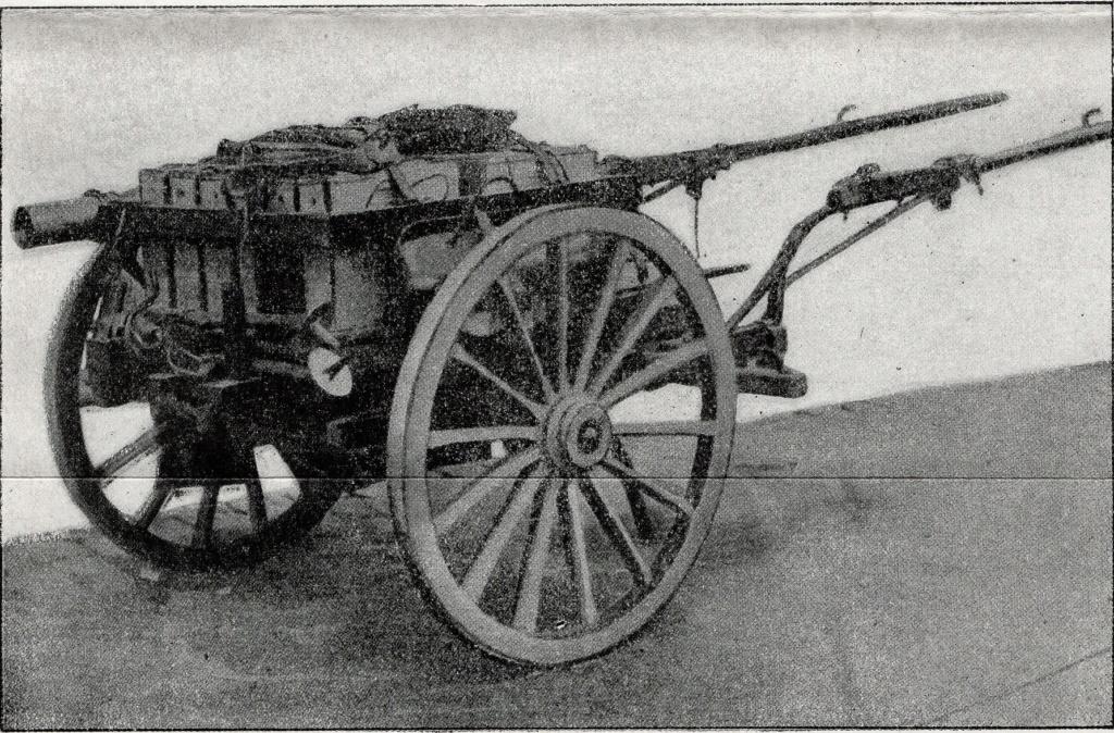 Voiturette porte mortier Stokes de 81 mm 2019-636