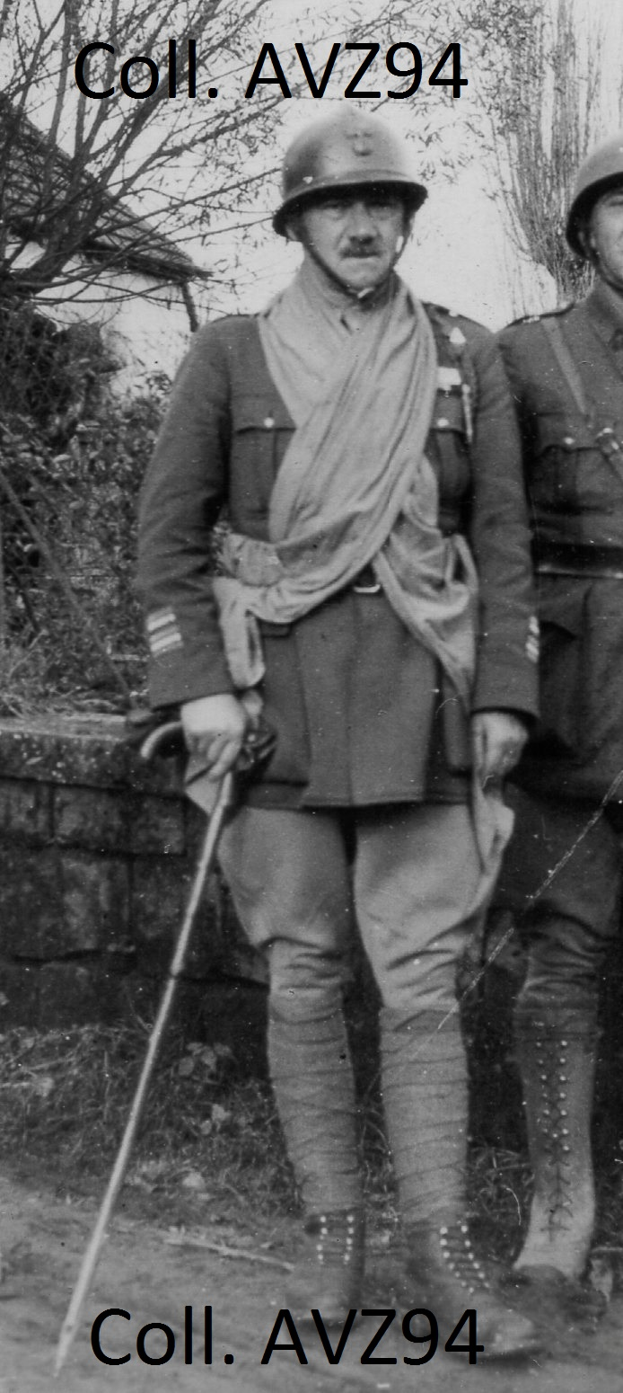 Lieutenant-Colonel Hargoaa, commandant le 49e RI puis 49e RIA 2021-259
