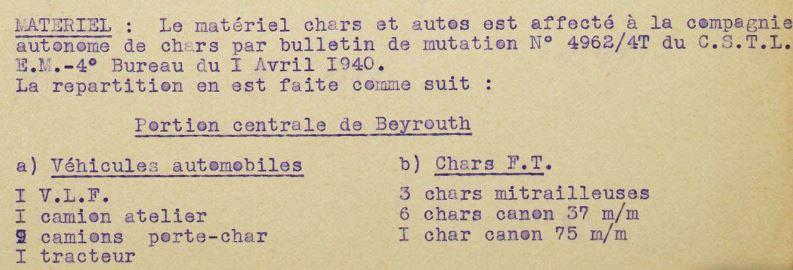 La CACL (Compagnie autonome de chars du Levant) par JG Rathé Cacl-012