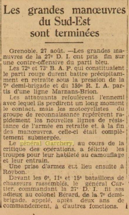 Général Garchery Gzonz358